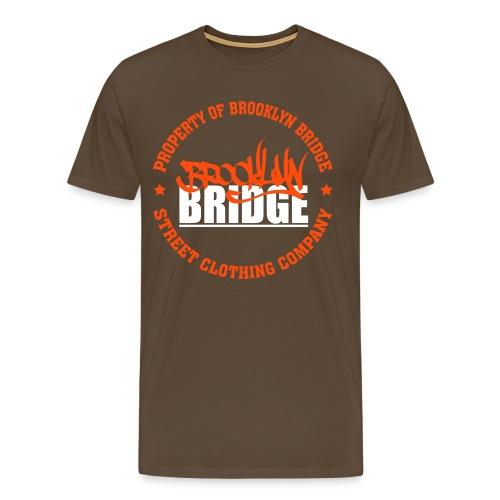 PROPERTY OF BROOKLYN  - T-shirt Premium Homme