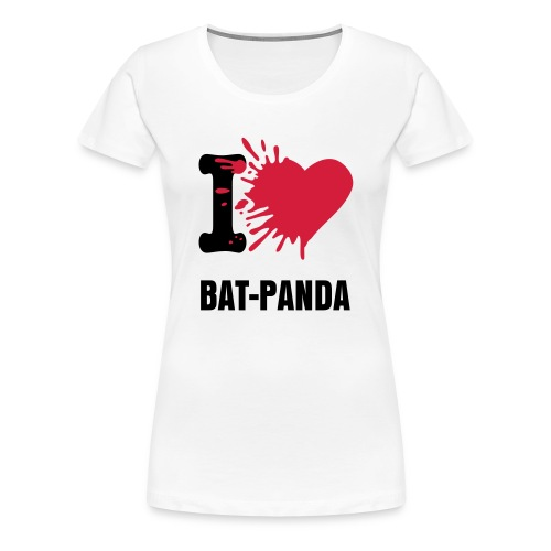 Win! - I Love Bat-Panda - Shirt - Women's Premium T-Shirt