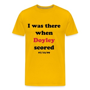 Doyley scored! - Men's Premium T-Shirt