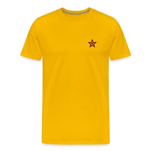 Starlight 1 - Hvit - Premium T-skjorte for menn