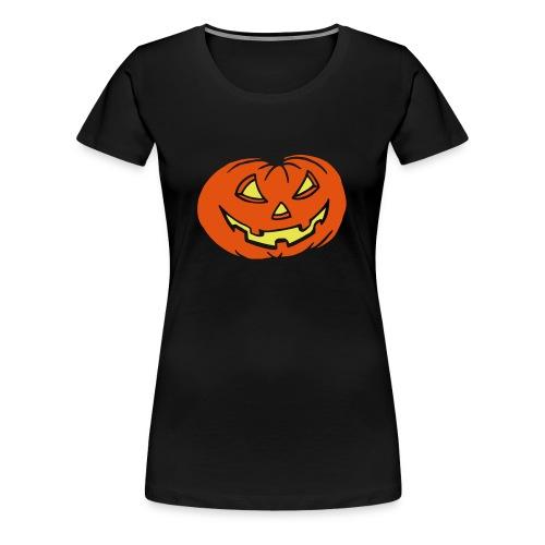 Kürbis - Halloween - T-Shirt - Frauen Premium T-Shirt