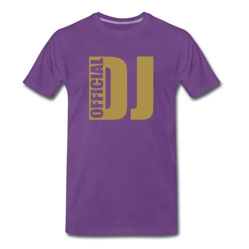 Official Dj Paars - Mannen Premium T-shirt