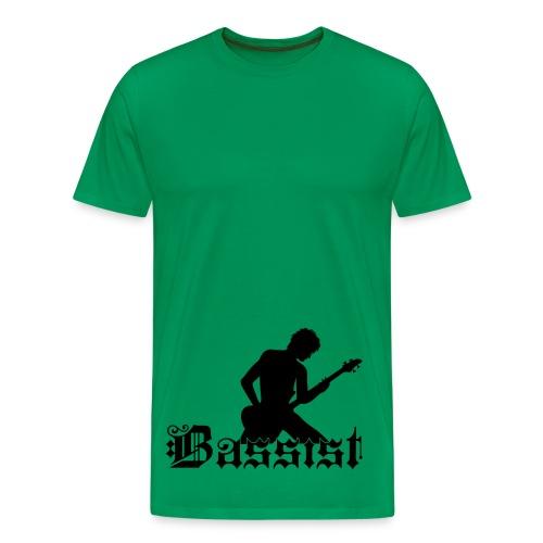 Bassist Farbwahl - Männer Premium T-Shirt