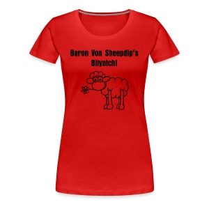 Shawn the sheep - Women's Premium T-Shirt