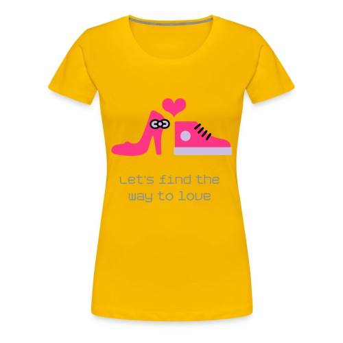 Way2Love - Vrouwen Premium T-shirt