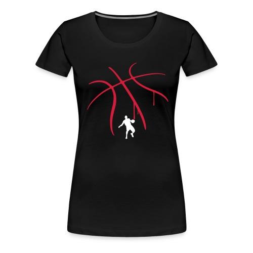 STREET BASKET - T-shirt Premium Femme