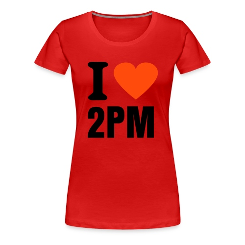 I love 2PM - Women's Premium T-Shirt