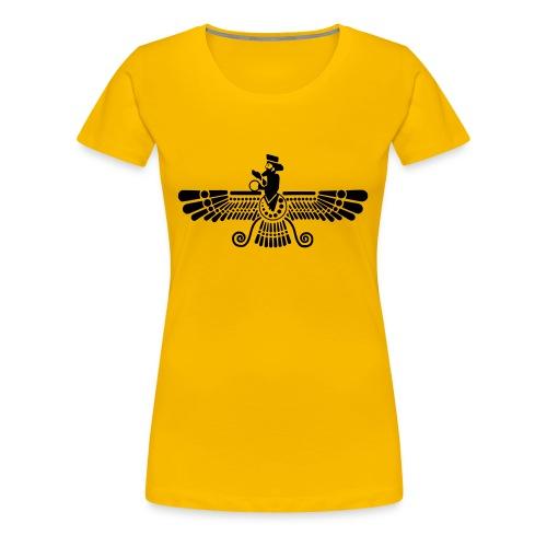 Yeziden T-shirt für Frauen  - Frauen Premium T-Shirt