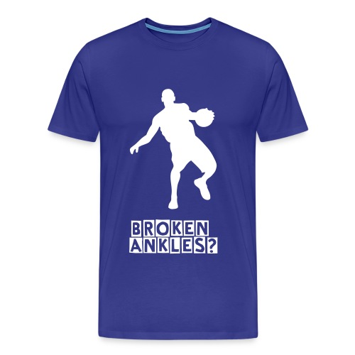 Broken Ankles T - Men's Premium T-Shirt