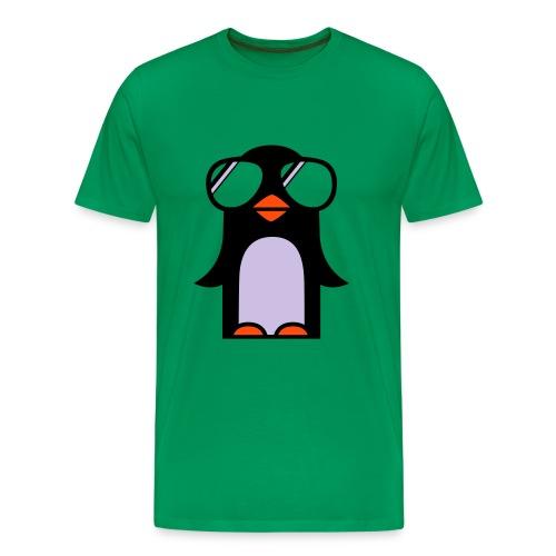 Penguin - Herre premium T-shirt