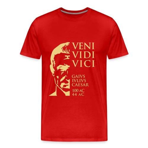 Camiseta hombre Basis Cesar Veni Vidi Vice - Camiseta premium hombre
