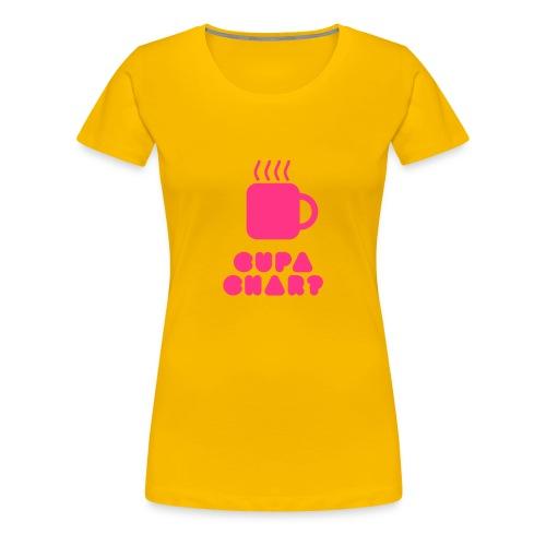 cupachar - Women's Premium T-Shirt