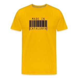 Samarreta Made in Catalunya - Camiseta premium hombre