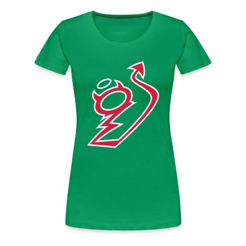 Sexy Teufelchen - Logo rot - Frauen Premium T-Shirt