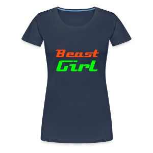 Beast Girl - Frauen Premium T-Shirt