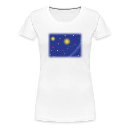 GirlieShirt Universe - Frauen Premium T-Shirt