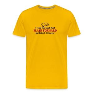 Flash Forward (Read Book) Various Colours - Men's Premium T-Shirt