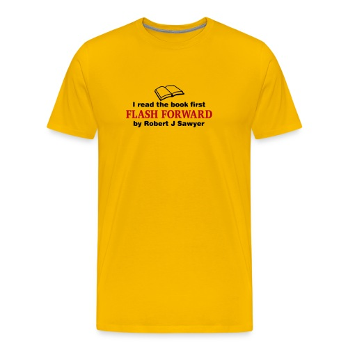 Flash Forward (Read Book) Various Colours - Men's Premium T-Shirt