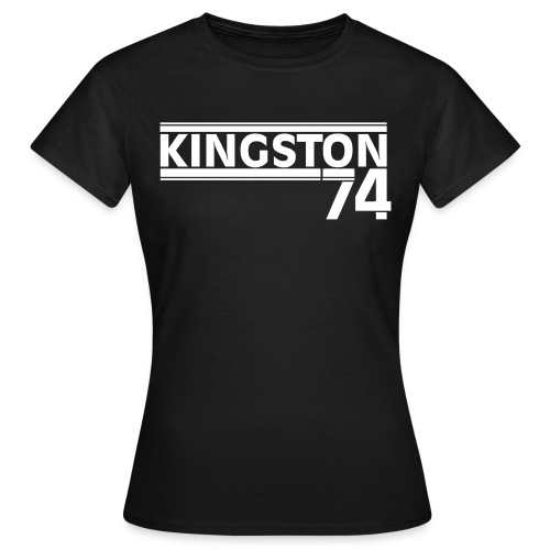 KINGSTON 74 BLANC - T-shirt Femme