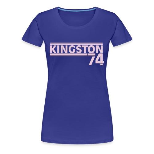 KINGSTON 74 LAVANDE - T-shirt Premium Femme