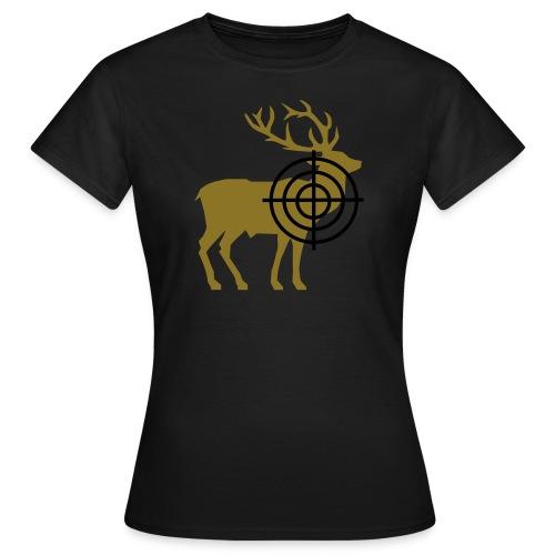 Blattschuss dames bruin - Vrouwen T-shirt