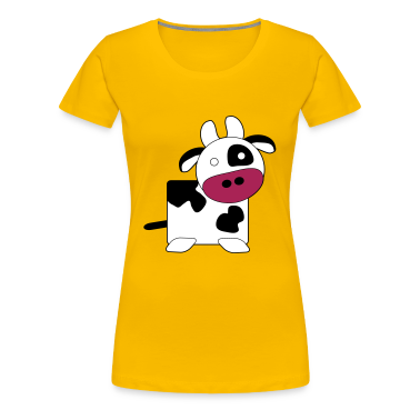 Cow (Large) T-Shirt Female