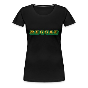 Reggae Shirt 2 colors - Frauen Premium T-Shirt