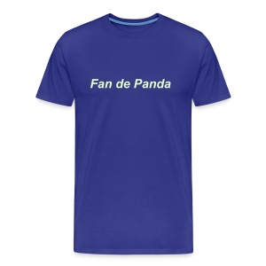 Fan de Panda, Night & Day - T-shirt Premium Homme