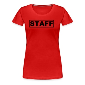 Staff Shirt Womans - Women's Premium T-Shirt