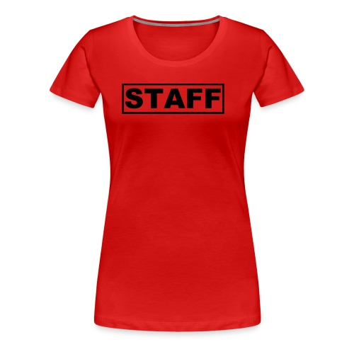 Staff Shirt Womans - Women's Premium T-Shirt