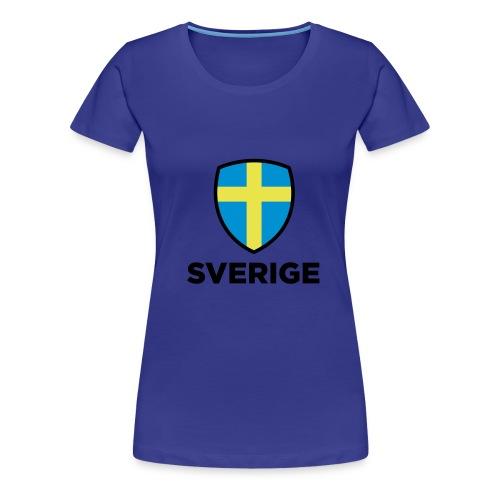 Sverige - Premium T-skjorte for kvinner