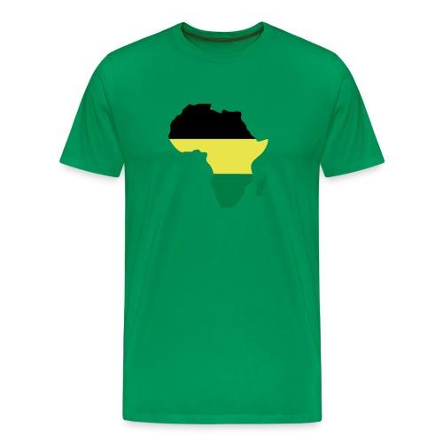 afro jamaica - Camiseta premium hombre