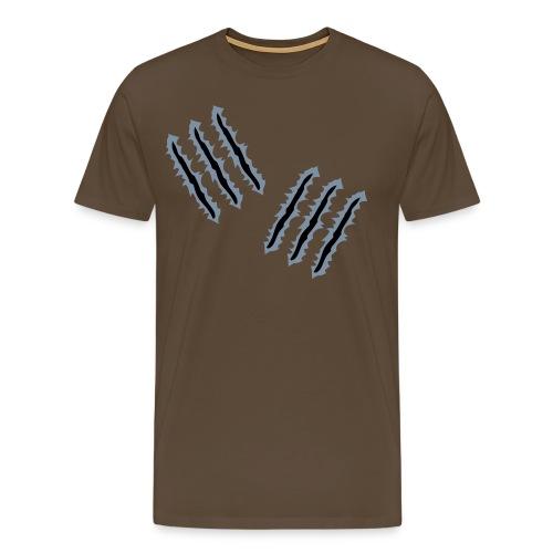Skratch - Premium T-skjorte for menn