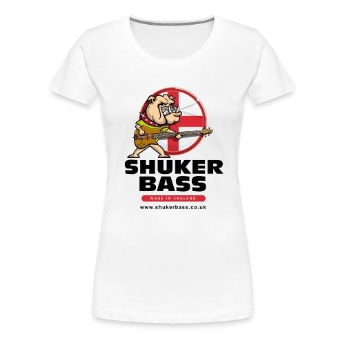 Shuker Bulldog Womens T shirt - Women's Premium T-Shirt