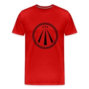 Man - red - AWEN - Männer Premium T-Shirt