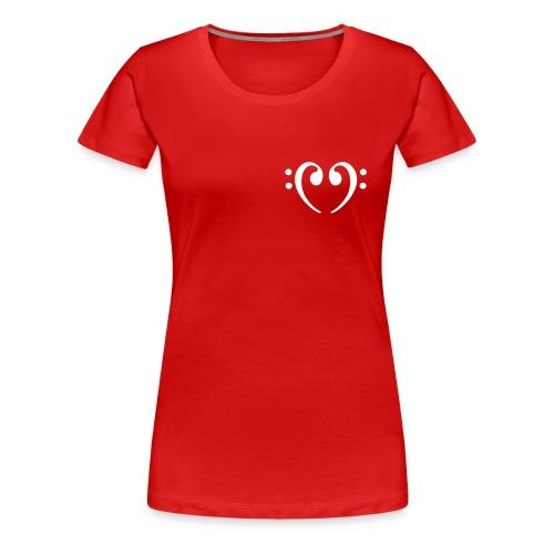 basowe love d - Koszulka damska Premium