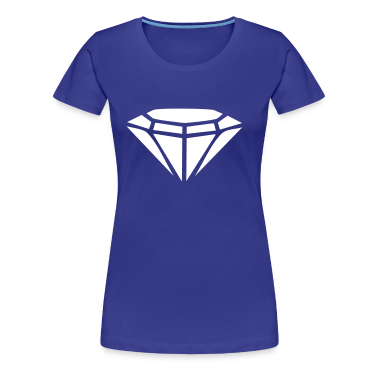Kongeblå Diamond T-shirts