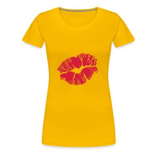 Soft Kiss - Premium T-skjorte for kvinner