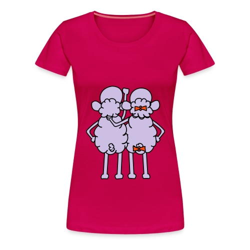 Sheep - Koszulka damska Premium