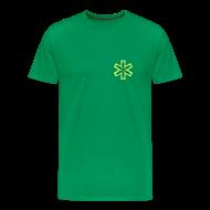 T-Shirts ~ Männer Premium T-Shirt ~ Medizinisches Cannabis Shirt in grün