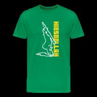 T-Shirts ~ Men's Premium T-Shirt ~ two colour hibsbollah