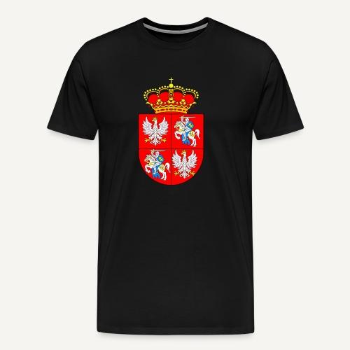 Rzeczpospolita Obojga Narodów  (czarna) - Koszulka męska Premium