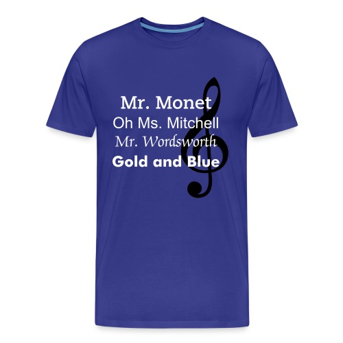Holly Kirby Music Men's Fitted T-Shirt :) - Men's Premium T-Shirt