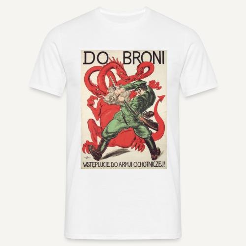 Do broni (kolorowa) - Koszulka męska