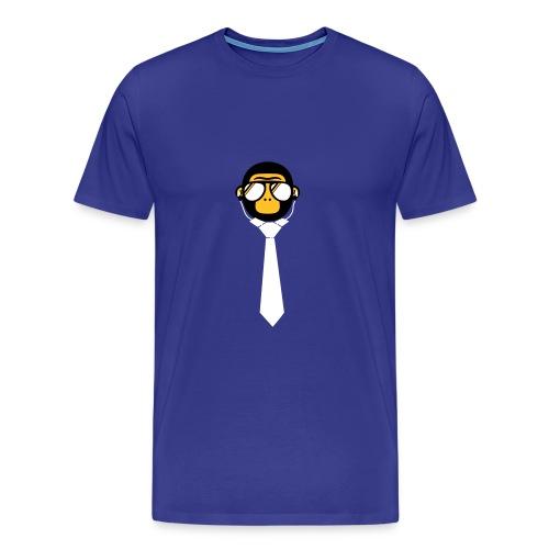 Monkey Tie - Mannen Premium T-shirt
