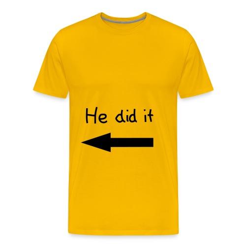 mohahha - Premium T-skjorte for menn