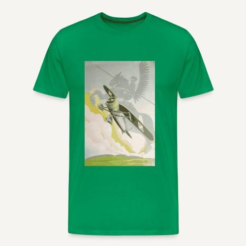 Skrzydlata husaria (kolorowa) - Koszulka męska Premium