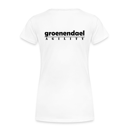 groenendael agility - T-shirt Premium Femme
