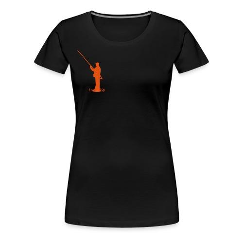 fiske - Premium T-skjorte for kvinner