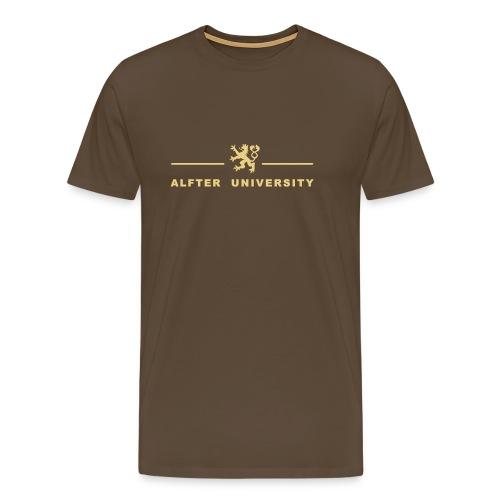 Männer Premium T-Shirt - Waldorf,Universität,Uni,Stundent,Studium,Hochschule,Campus,Bonn,Bachelor,Antroposophie,Alfter,Alanus